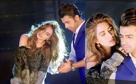 See Iman Ali and Farhan Saeed are appearing together as couple