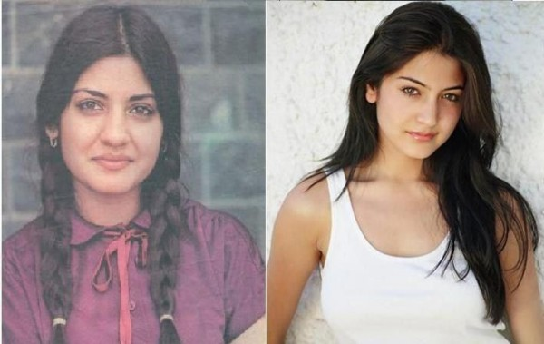 Nazia Hassan and Anushka Sharma