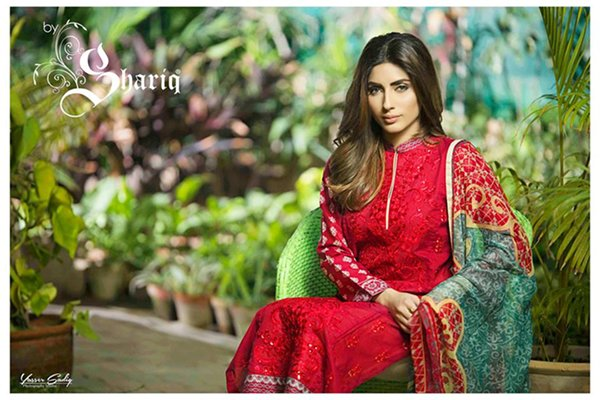 Rabea Spring Collection 2016 By Shariq Textiles For Women