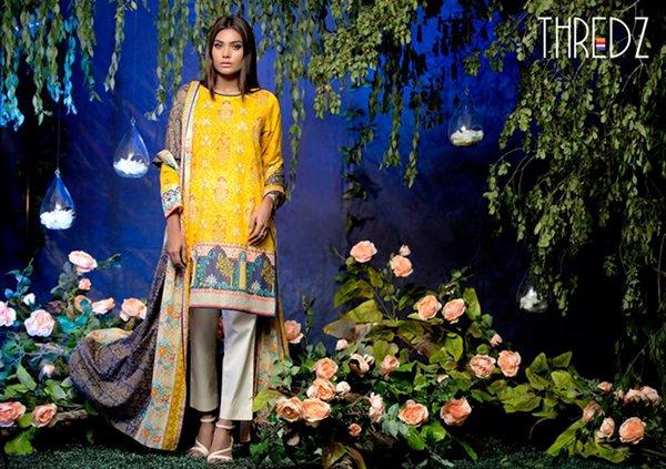 Thredz Lawn Dresses 2016 For Women0010