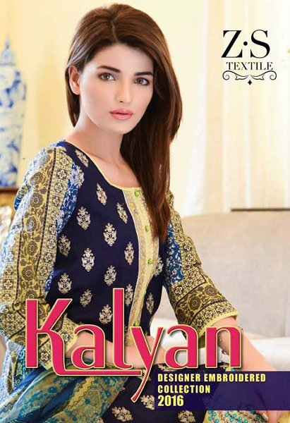 ZS Textiles Kalyan Lawn Dresses 2016 For Women009
