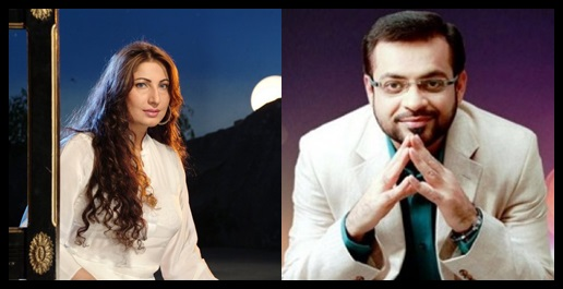See Amir Liaquat is all set to work in Movie along with Saima