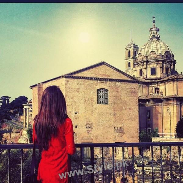 Arij Fatima is having fun in Italy (3)