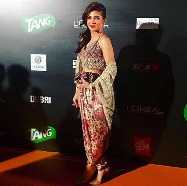 Ayesha Omer at ARY Film Awards 2016