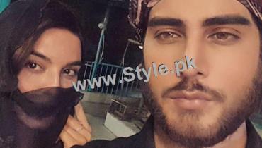 See Imran Abbas and Sadia Khan during Shooting of Khuda Aur Mohabbat 2