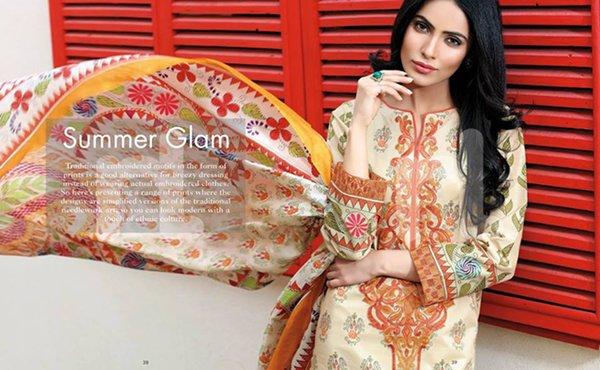 Nishat Linen Summer Dresses 2016 Volume II For Women007