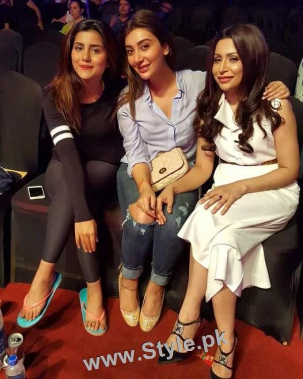 Pakistani Celebrities at rehearsals of 4th HUM Awards 2016 in Dubai (4)