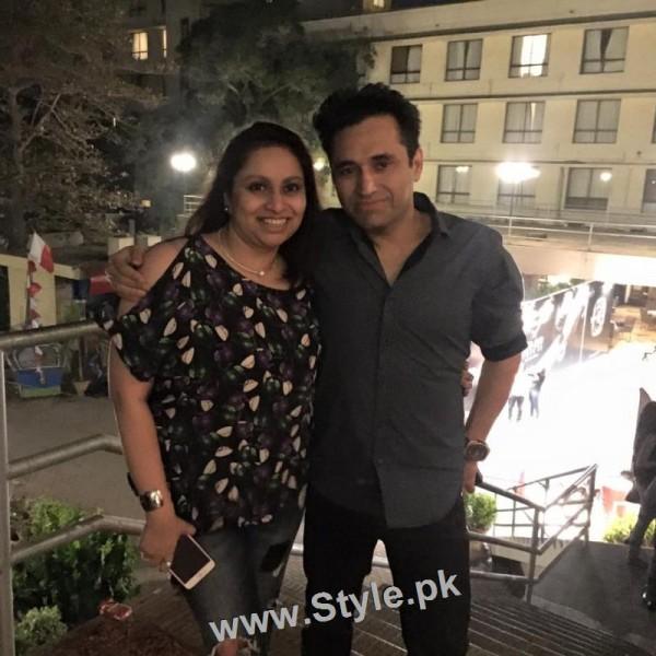 Pakistani Celebrities at the Launch of International Watch brand (4)