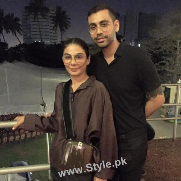 Pakistani Celebrities at the Launch of International Watch brand (5)