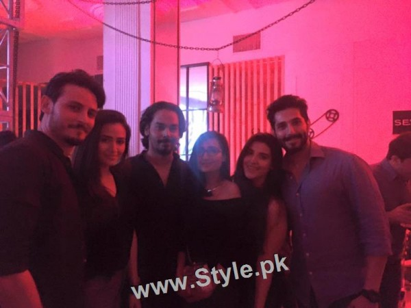 Pakistani Celebrities at the Launch of International Watch brand (6)