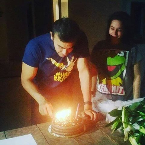 See Shaan Shahid celebrating his 45th Birthday