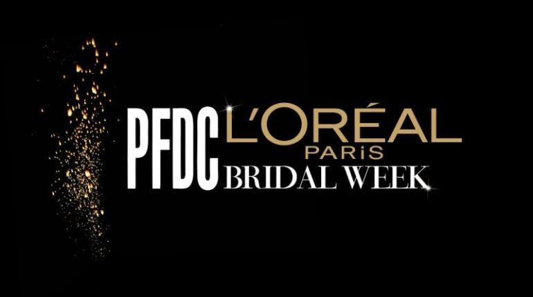 dates for PFDC L'Oréal Paris Bridal Week 2016