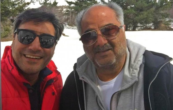 Adnan Siddiqui with Boney Kapoor