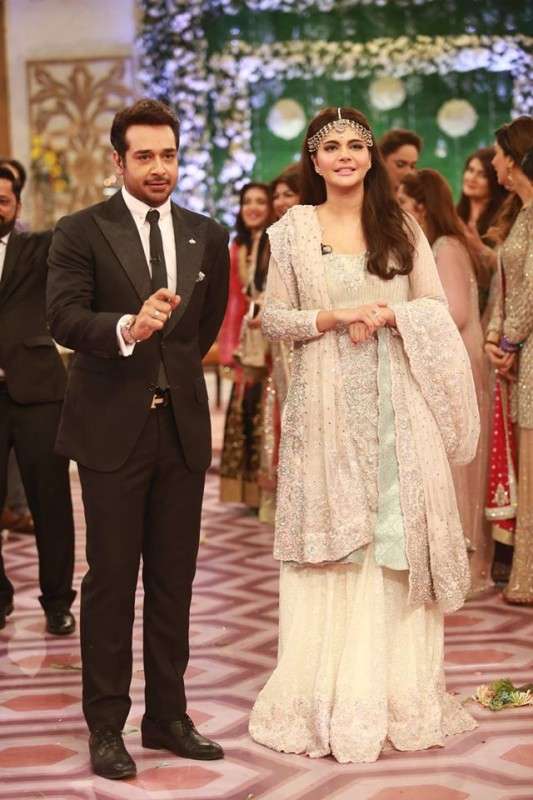 Ahmed Hassan and Nousheen Ibrahim' Reception pictures (4)