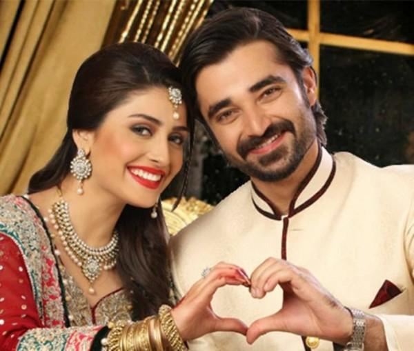 Ayeza Khan and Hamza Ali Abbasi