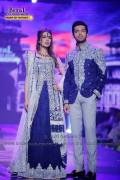 Fahad Mustafa and Iman Ali at Bridal Couture Week