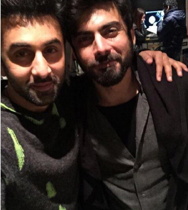 Fawad Khan and Ranbir Kapoor
