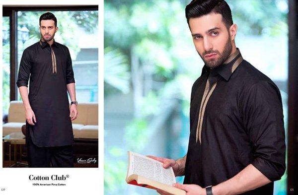 Gul Ahmed Summer Dresses 2016 For Men002