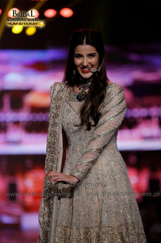 Hareem Farooq at Bridal Couture Week