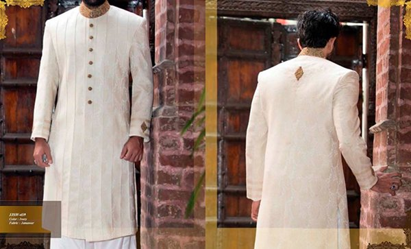 Junaid Jamshed Sherwani Collection 2016 For Men007