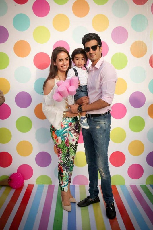 Pictures from birthday party of Momal Sheikh's son (4)