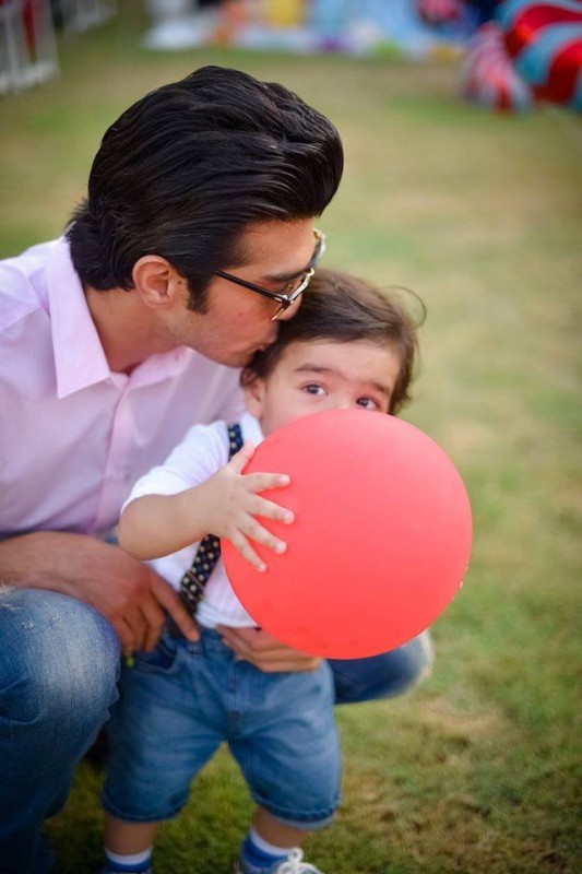 Pictures from birthday party of Momal Sheikh's son (7)