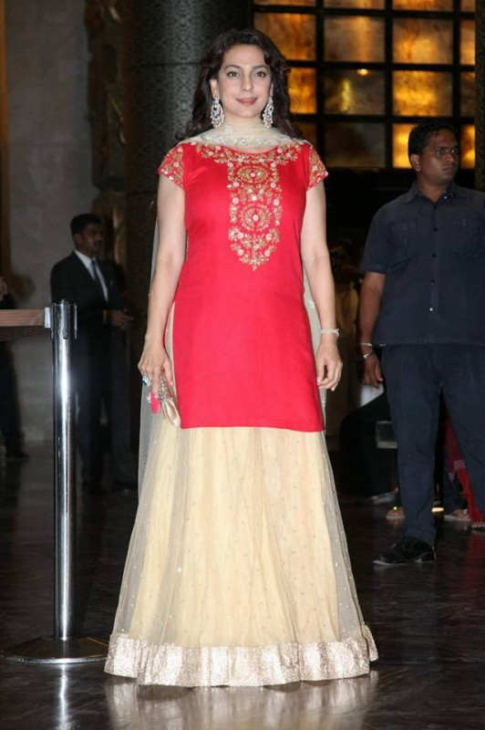 Preity Zinta and Gene Goodenough's reception Pictures (6)