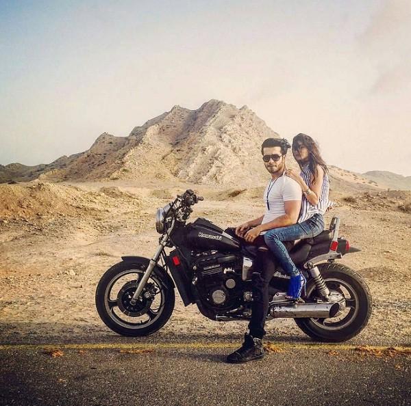 Sajal Ali and Feroze Khan photoshoot