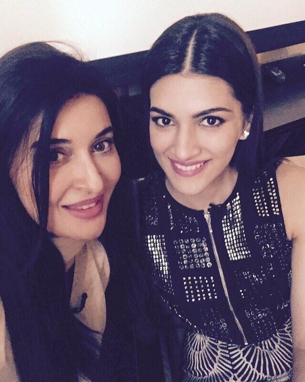 Shaista Lodhi with Kriti Sanon