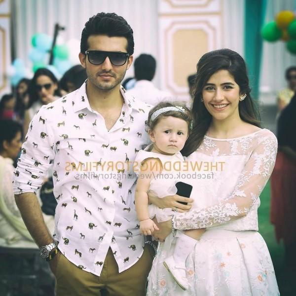 Syra Shehroze daughter photo