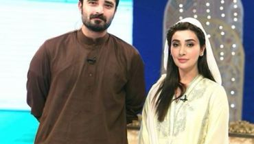Aee \\\\\See Hamza Ali Abbasi is banned from hosting Ramzan Transmission