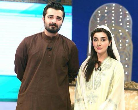Aee \\\\\See Hamza Ali Abbasi is banned from hosting Ramzan Transmission