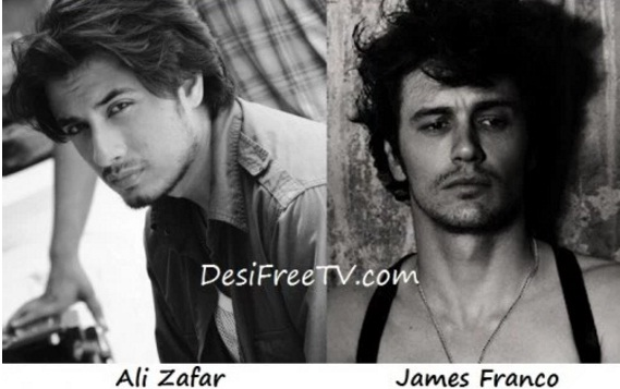 Ali Zafar look alike James Franco