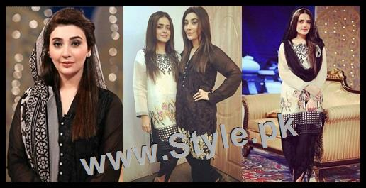 See Ayesha Khan and Sumbal Iqbal before and during Ramzan Transmission