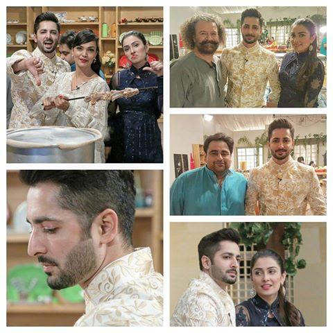 Ayeza Khan and Danish Taimoor on Last Day of Mehman nawaz (2)