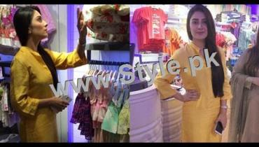 See Ayeza Khan at the launch of Andy Birds