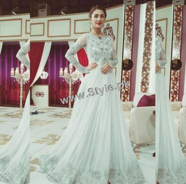 Ayeza Khan on the set of Mazak Raat Eid show (2)
