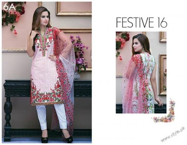 Festive 16 ZS Textile Kalyan Eid Collection 2016