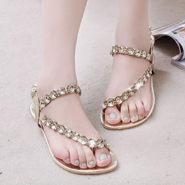 Flat Sandals for Eid 2016 (15)