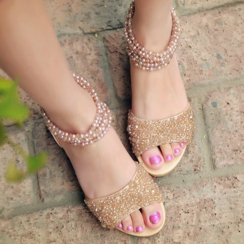 Flat Sandals for Eid 2016 (2)