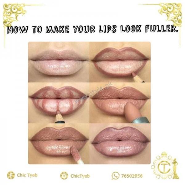 fuller plumper lips