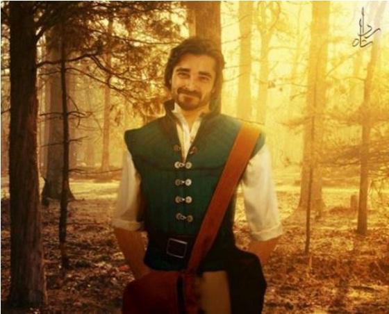 Hamza Ali Abbasi as Flynn Rider