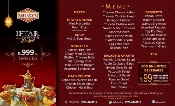 Iftar deals in Famous Restaurants of Pakistan (6)