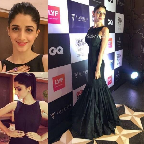 Mawra Hocane In GQ Best Dressed Awards