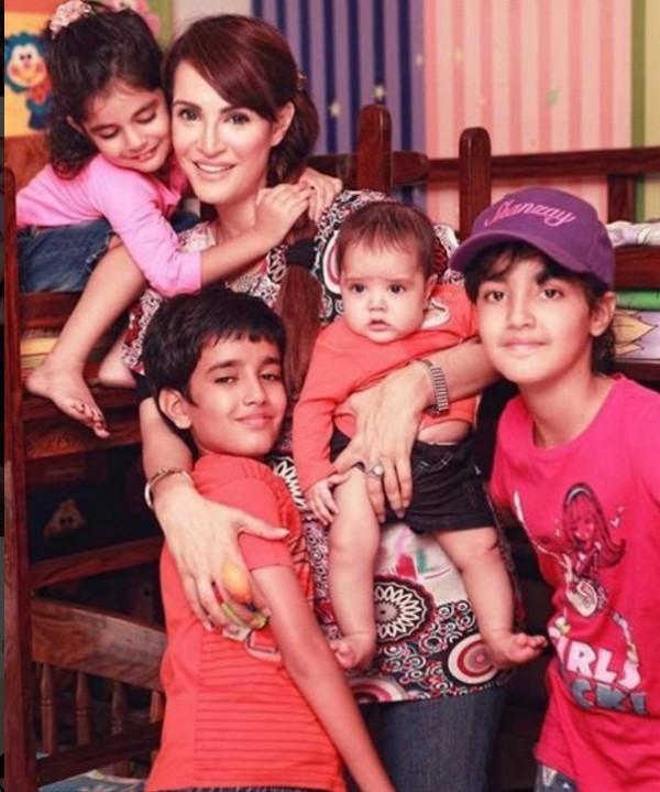 Nadia Hussain Kids