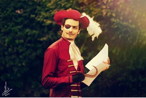 Osman Khalid Butt as Captain Hook