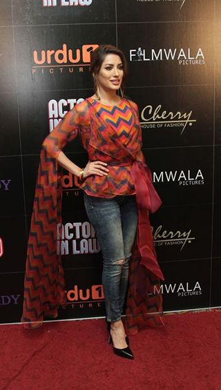 Pakistani Celebrities at the trailer launch of Actor in Law (2)