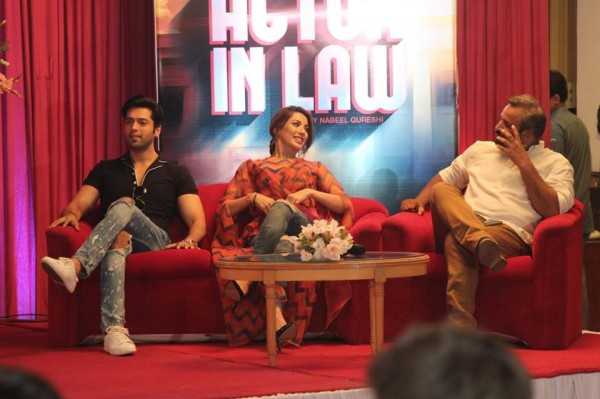 Pakistani Celebrities at the trailer launch of Actor in Law (24)