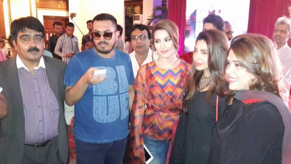 Pakistani Celebrities at the trailer launch of Actor in Law (3)