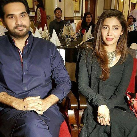 Pakistani Celebrities at the trailer launch of Actor in Law (6)